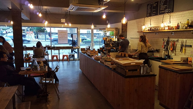 Batch And Co Cafe In Streatham London