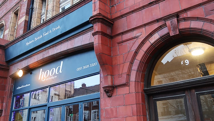 Hood Cafe Restaurant My Streatham