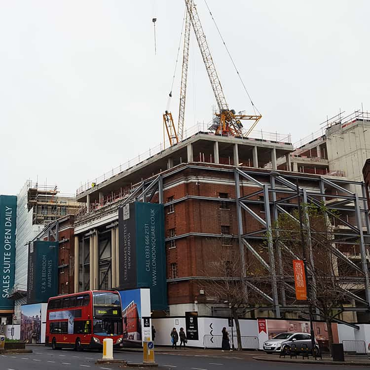 The London Square Development In Streatham Hill London