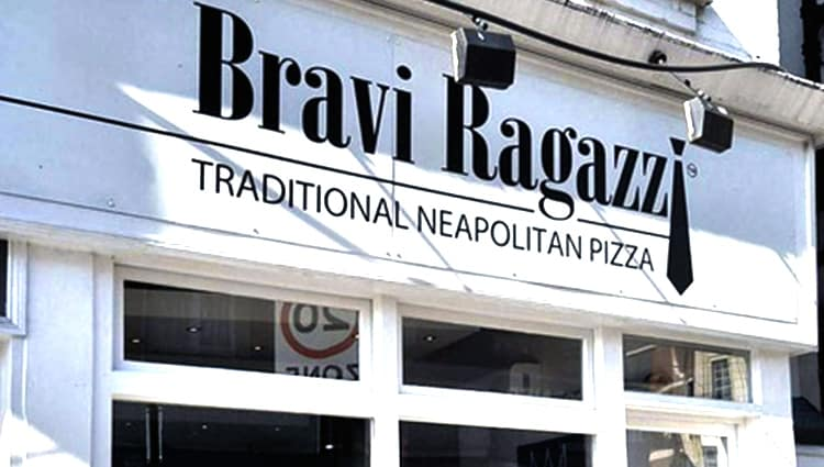 My Streatham Bravi Ragazzi Pizzaria Restaurant Take Away
