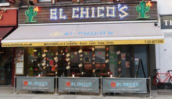 My Streatham El Chicos Mexican Restaurant London
