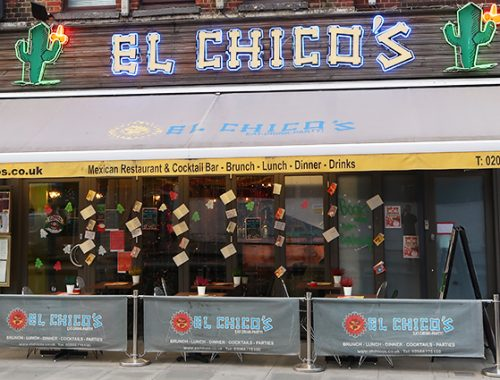My Streatham El Chicos Mexican Restaurant London