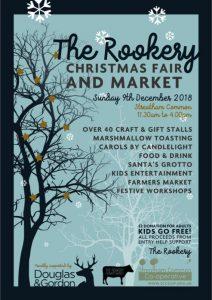 Streatham Rookery Christmas Market Xmas flyer