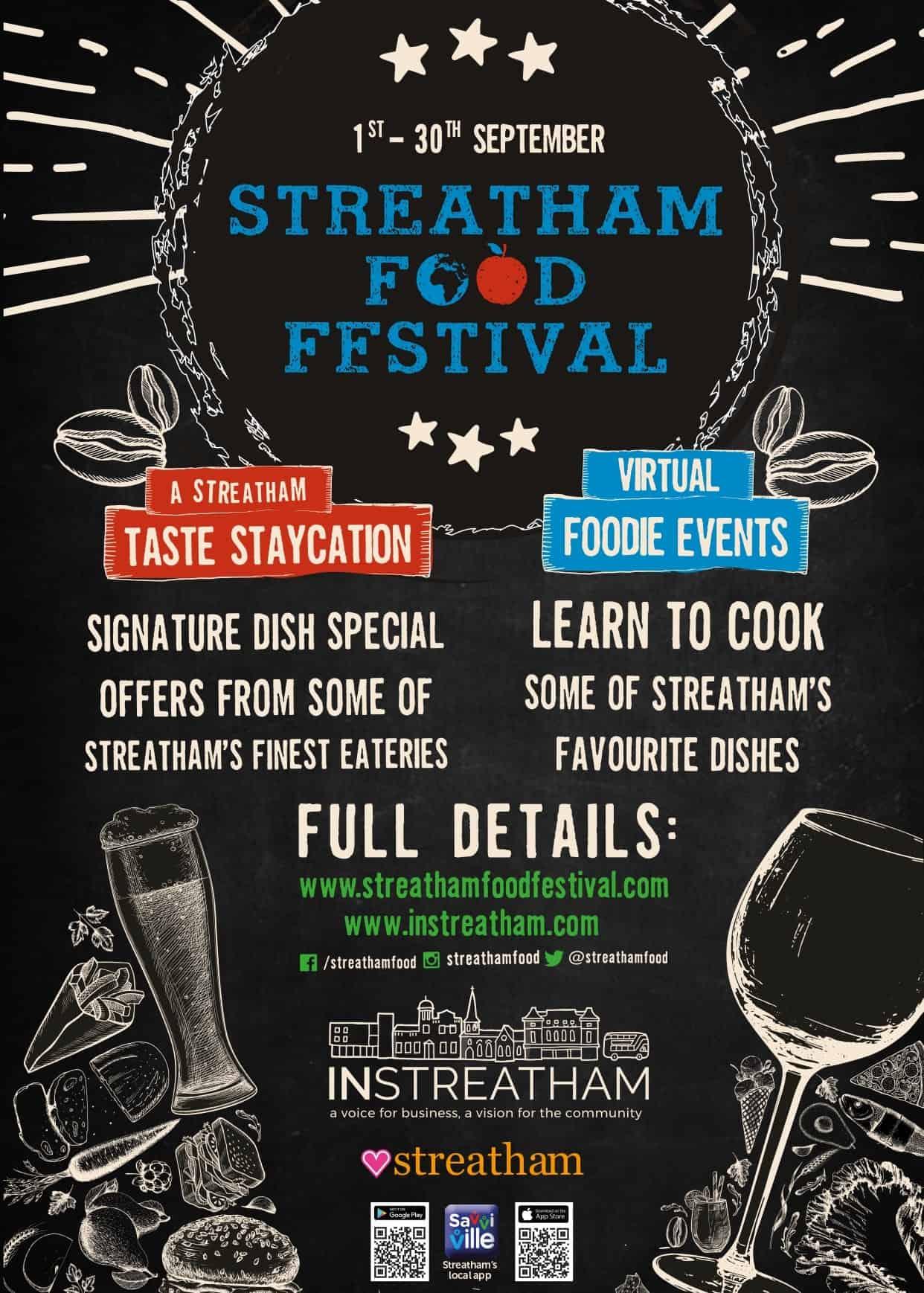 Streatham Food Festival Poster